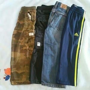 4 pairs size 4t pants